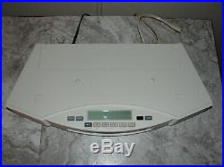 BOSE ACOUSTIC WAVE MUSIC SYSTEM II RADIO/CD PLAYER With 5 DISC CD CHANGER WORKING