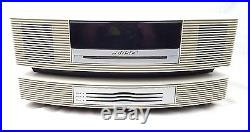 BOSE AWRCC2 Wave Radio Multi CD Changer Player IPhone IPod AM/FM Remote & Cables