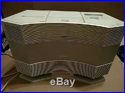 BOSE Acoustic Wave Music Radio AM FM CD-3000 With PD-2 Selector System Remote