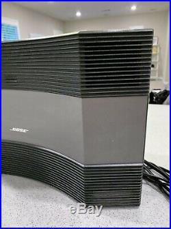 BOSE Acoustic Wave Music System CD-3000 Sound System CD Radio Graphite Remote