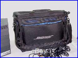 BOSE Acoustic Wave Music System II CD Player AM/FM Radio AUX With Battery & Case