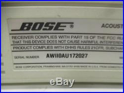 BOSE CD 3000 Acoustic WAVE Music System Single CD Player AM/FM Radio Aux In