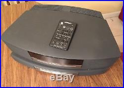 BOSE WAVE CD RADIO AWRCC1 WithMULTI CD CHANGER REMOTE CONTROL EXCELLENT