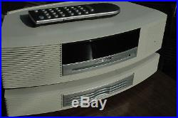 BOSE WAVE III MUSIC SYSTEM CD PLAYER RADIO With3 DISC CHANGER + REMOTE Very Nice