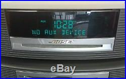 BOSE WAVE III MUSIC SYSTEM MP3 PLAYER RADIO With 3 DISC CHANGER + REMOTE