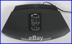 BOSE WAVE MUSIC SYSTEM 3 AM/FM Radio CD Clock REMOTE Gray USED WORKS PERFECTLY