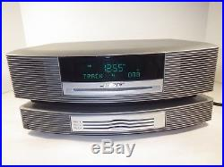 BOSE WAVE MUSIC SYSTEM AM/FM CD PLAYER RADIO With3 DISC CHANGER & REMOTE NEAR MINT
