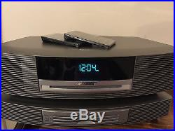 BOSE WAVE MUSIC SYSTEM AWRCCI RADIO/CD PLAYER WithMULTI CD CHANGER SILVER