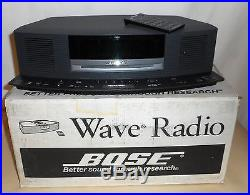 BOSE WAVE MUSIC SYSTEM CD PLAYER RADIO With IC-1 BUTTON CONTROL & REMOTE, AWESOME