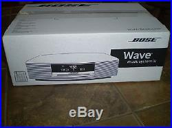 BOSE WAVE MUSIC SYSTEM III 3 STEREO CD PLAYER RADIO NEVER OPENED