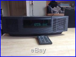 BOSE WAVE RADIO/CD PLAYER AWRC-1G With Remote Perfect Working