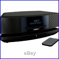 BOSE WAVE SoundTouch MUSIC SYSTEM IV BLACK BLUETOOTH 1-YEAR FACTORY WARRANTY