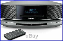 BOSE WAVE SoundTouch MUSIC SYSTEM IV SILVER BLUETOOTH 1-YEAR FACTORY WARRANTY