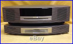 BOSE Wave Music System AM/FM Radio with Multi CD Disc Changer Accessory and Remote