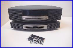 BOSE Wave Music System CD Player Radio AWRCC1 3 Disc Changer with remote TESTED
