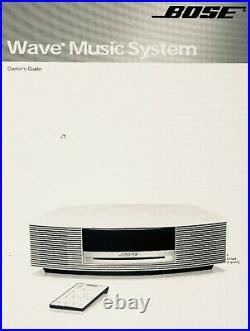 BOSE Wave Music System CD Player/Radio Model AWRCC1 withremote and more Tested