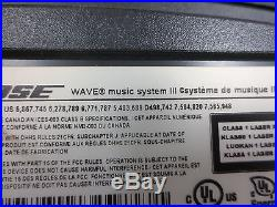 BOSE Wave Music System III Radio/CD with Remote FREE SHIP