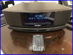 BOSE Wave Music System IV soundtouch CD Player Radio Remote Espresso Black