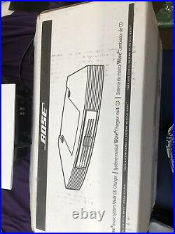 BOSE Wave Music System Radio & Multi CD Changer With Two Remotes Box & Papers