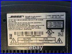 BOSE Wave Music System Speaker CD Player AM FM Radio AWRCC1 WithRemote TESTED