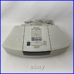 BOSE Wave Radio / CD Player White AWRC1P Tested Working Unit Only