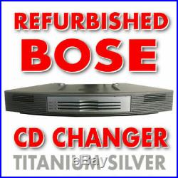 Bose 3 Disc Multi-CD Changer for Wave Radio/CD Player Music AWRCC1 System Silver