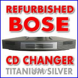 Bose 3 Disc Multi-CD Changer for Wave Radio/CD Player Music System Silver