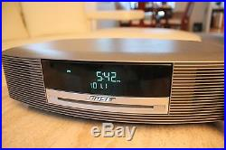 Bose AWRCC1 Wave Music System Radio & CD Player Audiophile Stereo, Remote, CD