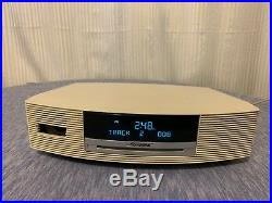 Bose AWRCC2 Wave Music System AM/FM CD Player Alarm Clock with Remote Great Condit