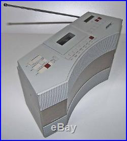Bose AW-1 Acoustic Wave Music System Radio/Cassette Player! MP3/iPod CordTESTED