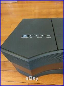 Bose Acoustic Wave CD-3000 Music System CD Player Radio Graphite