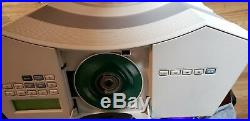 Bose Acoustic Wave CD-3000 System CD Player Radio Platinum White Remote 5 Disc