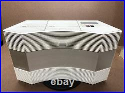 Bose Acoustic Wave Music System AM/FM CD Player AUX Radio Stereo Model CD-3000