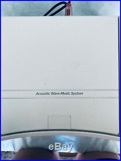 Bose Acoustic Wave Music System AM/FM Radio CD Player CD-3000 White Great Sound