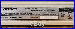 Bose Acoustic Wave Music System-CD3000 AM/FM CD Player + AUX for iPhone and iPod