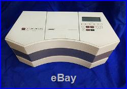 Bose Acoustic Wave Music System-CD3000 AM/FM CD Player +for iPhone and iPod