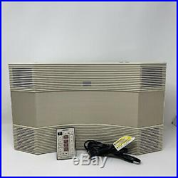 Bose Acoustic Wave Music System CD-3000 AM / FM / CD Ivory Cream