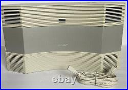 Bose Acoustic Wave Music System CD-3000 AM/FM Radio Tested Working