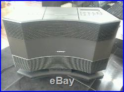 Bose Acoustic Wave Music System CD-3000 CD, Radio AM/FM WithRemote & Pedestal PD-2