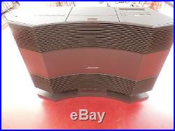 Bose Acoustic Wave Music System CD-3000 CD, Radio AM/FM with Pedestal PD-2