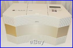 Bose Acoustic Wave Music System Cd3000 CD 3000 Radio Stereo Player White Read Ad
