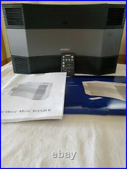 Bose Acoustic Wave Music System II. AM/FM Radio/CD Player/Remote