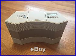 Bose Acoustic Wave Music System II-AM/FM/iPhone/CD Player. Includes Sirius Radio