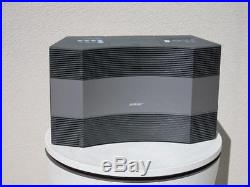 Bose Acoustic Wave Music System II-AM/FM/iPhone/iPod CD Player-Graphite withRemote
