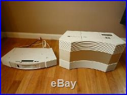 Bose Acoustic Wave Music System II CD-3000 & 5-CD Disc Changer Boombox Radio