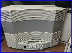Bose Acoustic Wave Music System II CD Player Radio CHANGER-REMOTE-CASE & BATTERY
