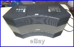 Bose Acoustic Wave Music System II CD Player Radio Remote Working