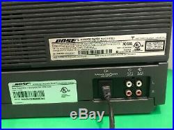 Bose Acoustic Wave Music System II, Multi-CD Changer, Remote-Works & Sounds Great
