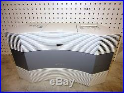 Bose Acoustic Wave Music System II Radio CD Player White Iphone Mp3 Aux Cord