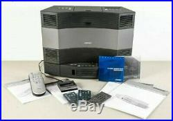 Bose Acoustic Wave Music System II Stereo 5 CD Changer Radio Player iPOD Kit